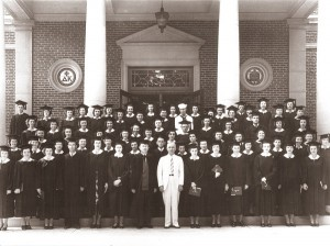 Harry Truman with the Class of 1943