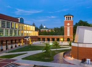 Pickler Memorial Library and the Clock tower