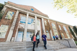 Violette Hall is named in honor of an eminent professor and historian who helped launch the school newspaper.